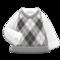 Argyle Vest (Gray) NH Icon.png