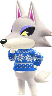 Fang, an Animal Crossing villager.