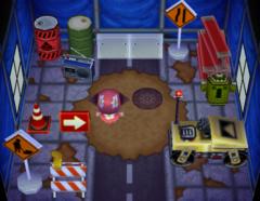 Spike's house interior