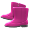 Velour Boots (Ruby Red) NH Icon.png