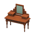 Antique Vanity (Brown) NH Icon.png