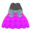 Bubble-Skirt Party Dress (Purple) NH Icon.png