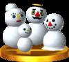 Snowpeople SSB4 Trophy (3DS).png