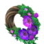 Chic Windflower Wreath