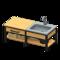 Ironwood Kitchenette (New Horizons) - Animal Crossing Wiki ... on Ironwood Kitchenette  id=88143