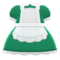 Maid Dress (Green) NH Icon.png