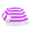 Striped Shirt (Purple) NH Icon.png