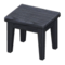 Wooden Mini Table (Black - None) NH Icon.png