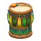 Festivale Drum (Green) NH Icon.png