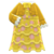 Frilly Dress (Yellow) NH Icon.png