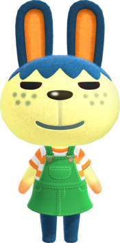 Pippy, an Animal Crossing villager.