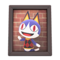Rover's Photo (Dark Wood) NH Icon.png