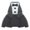 Chic Tuxedo Dress (Black) NH Icon.png