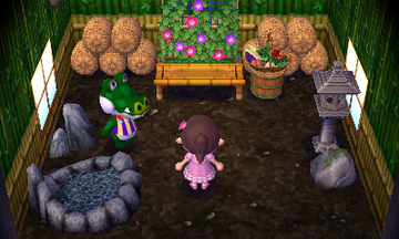 Interior of Boots's house in Animal Crossing: New Leaf