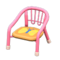 Baby Chair (Pink - Butterfly) NH Icon.png