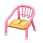 Baby Chair (Pink - Butterfly)