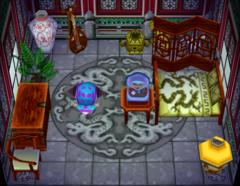 Chow's house interior