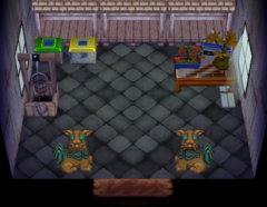 Rasher's house interior