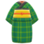 Old Commoner's Kimono (Green) NH Icon.png