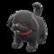 Puppy Plushie (Black) NH Icon.png
