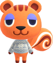 Sally, an Animal Crossing villager.