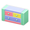 Wooden-Block Chest (Pastel) NH Icon.png
