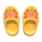 Wooden Clogs (Yellow) NH Icon.png