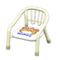 Baby Chair (White - Bear) NH Icon.png