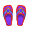 Beaded Sandals (Red) NH Icon.png