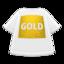 Gold-Print Tee
