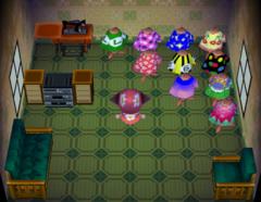 Alli's house interior