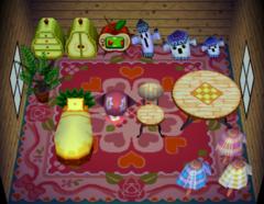 Sally's house interior