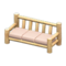 Log Extra-Long Sofa (White Wood - None) NH Icon.png