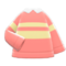 Energetic Sweater (Pink) NH Icon.png