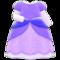 Princess Dress (Purple) NH Icon.png