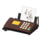 Fax Machine (Brown - Written Note) NH Icon.png