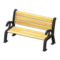 Garden Bench (Black) NH Icon.png