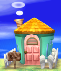 Nibbles's house exterior