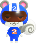 Agent S, an Animal Crossing villager.