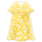 Casual Chic Dress (Yellow) NH Icon.png