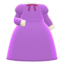Elegant Dress (Purple) NH Icon.png