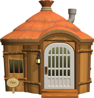 Exterior of Annalise's house in Animal Crossing: New Horizons