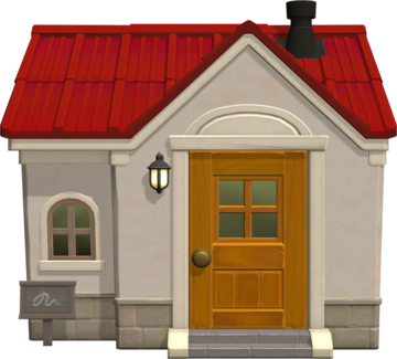 Exterior of Goose's house in Animal Crossing: New Horizons