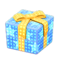 Illuminated Present (Blue with Yellow Ribbon) NH Icon.png