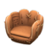 Throwback Mitt Chair (Brown) NH Icon.png