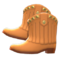Cowboy Boots (Brown) NH Icon.png