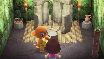 Interior of Tucker's house in Animal Crossing: New Horizons