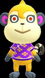 Tammi, an Animal Crossing villager.