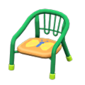 Baby Chair (Green - Butterfly) NH Icon.png