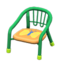 Baby Chair (Green - Butterfly)